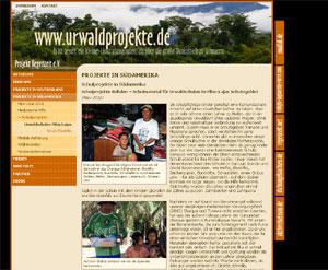 Urwaldprojekte - PROJEKT REGENZEIT e.V.